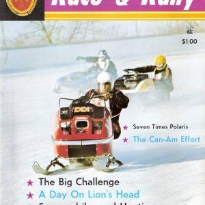 Nov-Dec 1972 Snowmobiler's Race & Rally Magazine