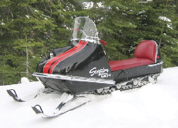scorpion snowmobile