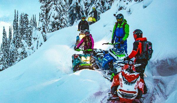 Ski-Doo Launching Escape Mountain Video Series