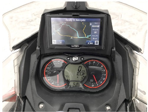 Sled GPS kit for Ski-Doo