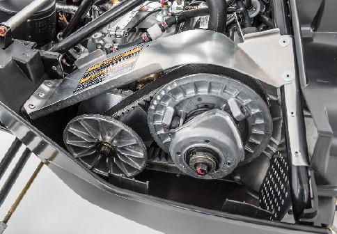 2018 Yamaha SnoScoot Drive System