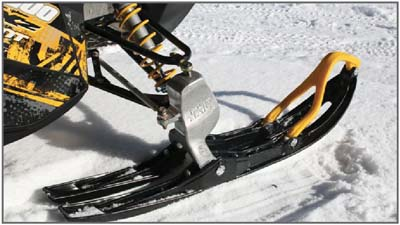 simmons gen 3 skis. compared to conventional and concave \u201ctunnel\u201d skis, split rail skis minimize the snow pressure build up eliminate push effect caused by unwanted simmons gen 3