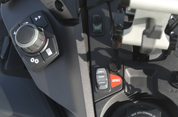Smart-Shox console mounted control switch