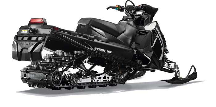 2018 Polaris Titan Articulated Rear Suspension