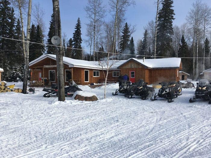Trek to Moosonee, Arctic Cat Pantera 6000