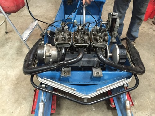 1971 Polaris 649cc TX 2+1 triple cylinder 3 cylinder