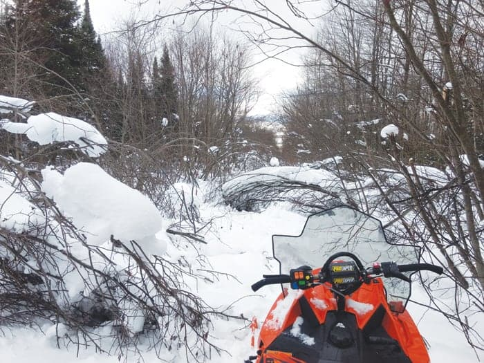 snowmobile trails closed, snowmobile trails not open