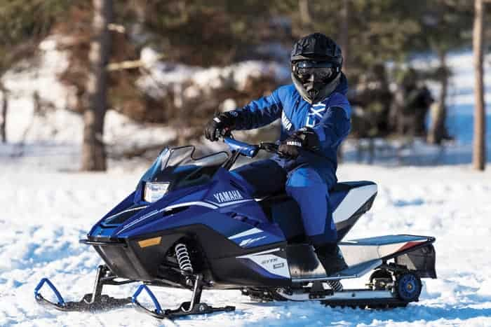 The making of the arctic cat zr 200 and yamaha sno scoot for Yamaha sno scoot