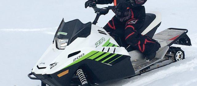 2018 Arctic Cat ZR 200 : SnowTest