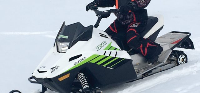 2018 Arctic Cat ZR 200 : SnowTest
